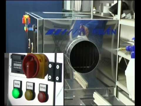 Assista: REVEN Mechanical Separation and Electrostatic Filtration
