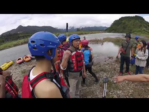 Super Chinese movie stars tried kayaking for movie