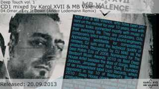 Deep Touch vol. 1 mixed by Karol XVII & MB Valence and Jackspeare [CD1 minimix]