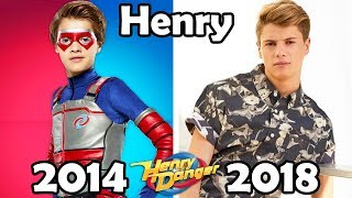 Henry Danger Before and After 2018 (Then and Now)