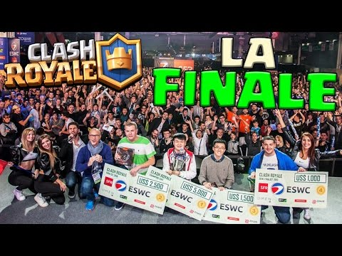Clash Royale FINALE DU TOURNOI à la Paris Games Week !! (avec BFA et Dova)