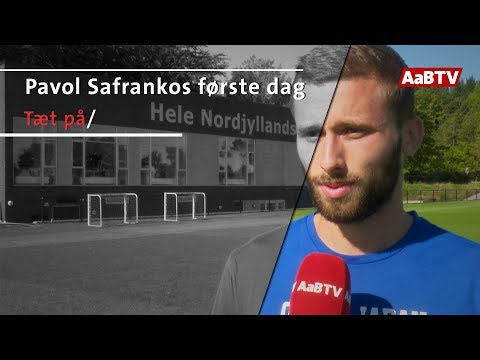 Pavol Safrankos første dag