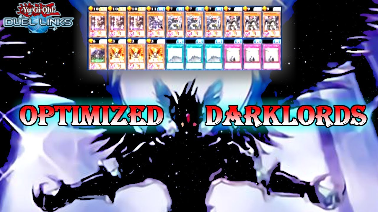OPTIMAL DARKLORDS, 70% WINRATE [Yu-Gi-Oh! Duel Links]