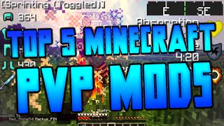 ★ Top 5 1.7 PVP MODS - Minecraft Modpack + Easy Install