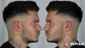 Hair Tutorial #13 | Haare schneiden Herren Anleitung | MID FADE | NUYÄN