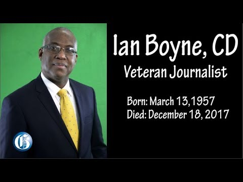 PICTURE THIS: Tribute to Ian Boyne