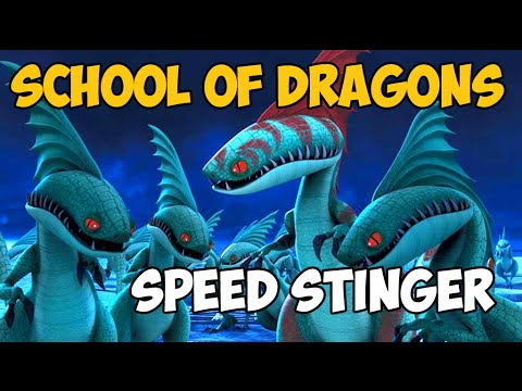 School of Dragons. Обзор Дракона. Speed Stinger (Скорожал).