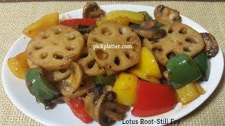 Lotus Root Stir Fry Recipe