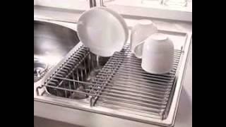 Kitchen Sink Dish Rack
