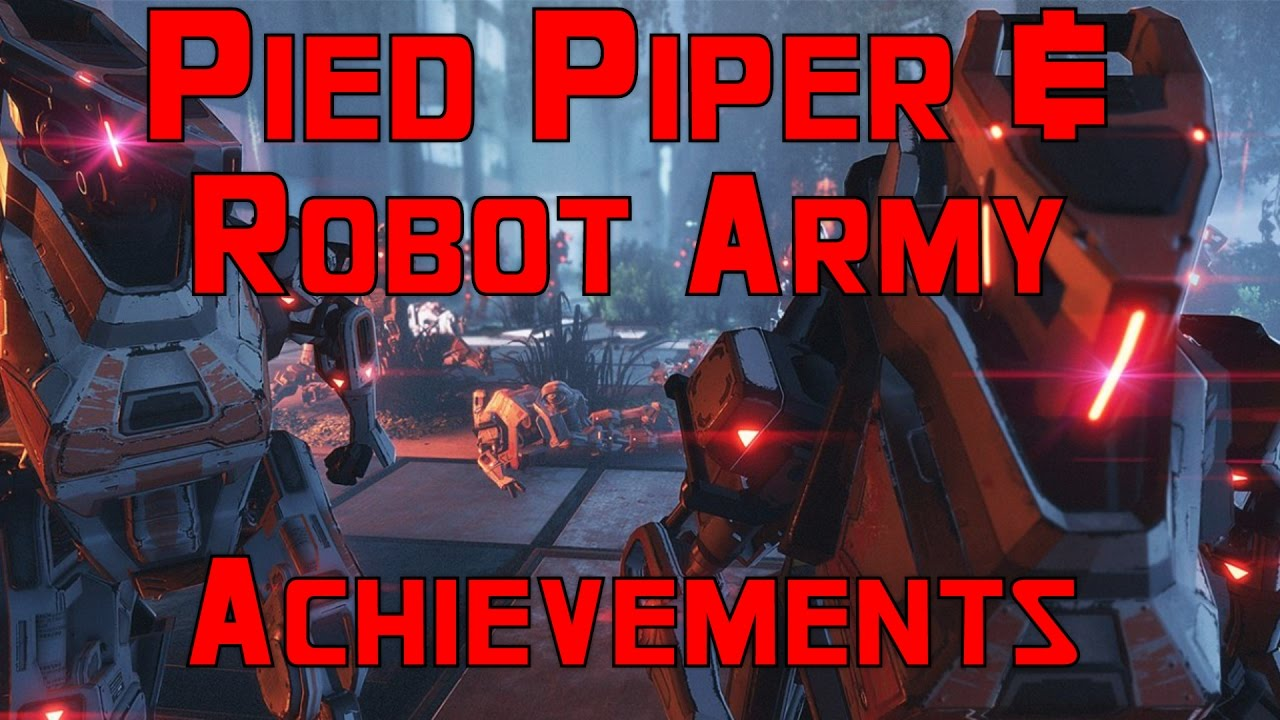 Titanfall 2 - Pied Piper and Robot Army Secret Achievements - YouTube