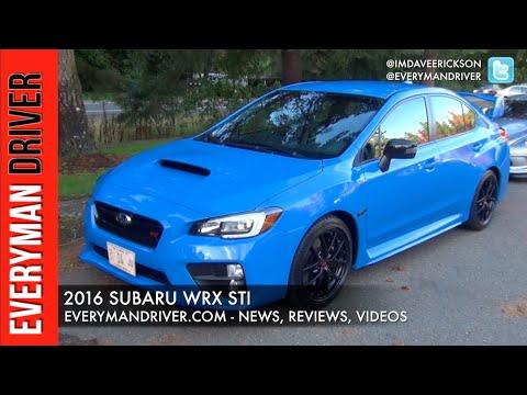 Here's The 2016 Subaru WRX STI On Everyman Driver