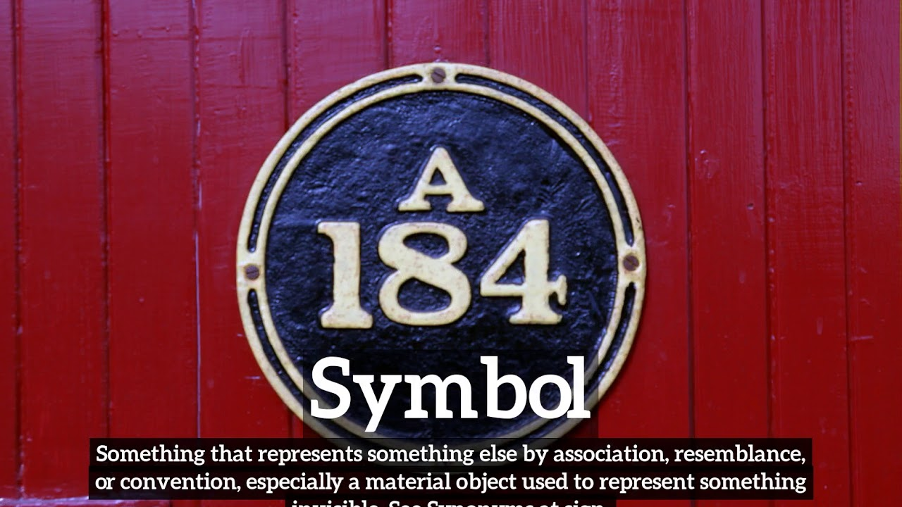 What Is Symbol How Does Symbol Look How To Say Symbol In