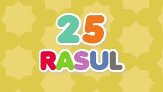25 nama nama rasul