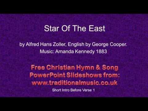 Christmas Carols, Lyrics & Music- Star Of The East.