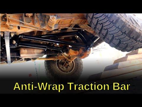 Installing Anti Wrap Traction Bar Kit Youtube