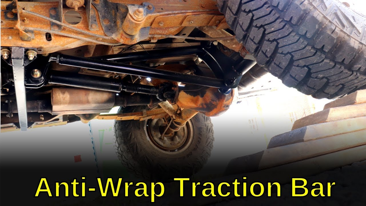 Simple Traction Bar Axle Mounts RuffStuff Specialties Ladder Bar and Anti Wrap Traction Bar Kits and Components