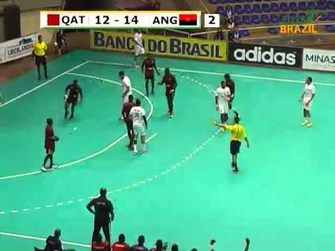 Qatar vs Angola 2015 Men's Junior World Handball Championship