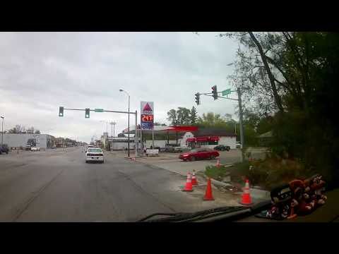 Gary, Indiana 25th & Broadway to Merrillville, Indiana Virtual Reality Drive