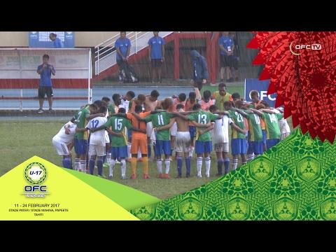 2017 OFC U-17 CHAMPIONSHIP | MD6 Solomon Islands v Samoa Highlights