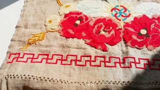 Ошибки с мережками | Как я вышиваю рушник для каравая на свадьбу | Царевна-Лебёдушка | серия 1