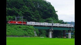【北陸鉄道へ譲渡】EF510 1牽引 東京メトロ03系4B 甲種輸送(8560レ)@2019.7.12