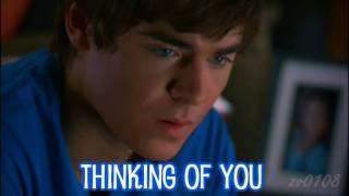 Zac Is Thinking Of Vanessa