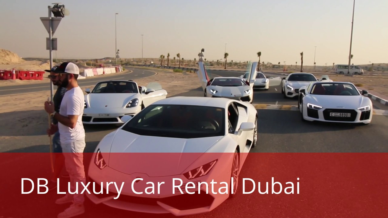 Db Luxury Car Rental Dubai Contact 971553304440 Youtube