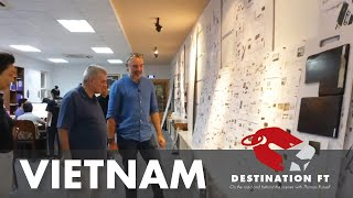 Tour of Jonathan Charles facility in Ho Chi Minh City, Vietnam