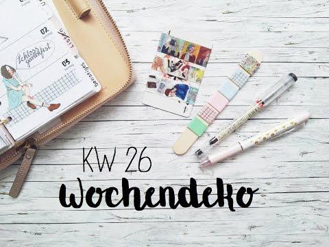 Kate Spade Wochendeko KW 26