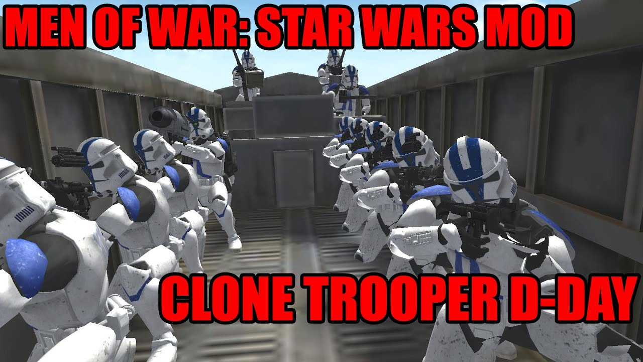 Swg Clone Wars Mod: Star Wars Mod: Men Of War Assault