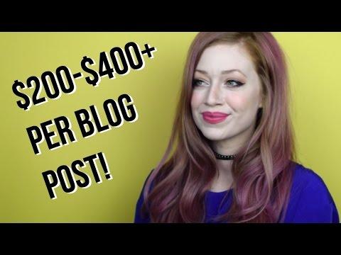 FREELANCE BLOGGING: 3 TIPS FOR MAKING $200-$400+ PER BLOG POST!