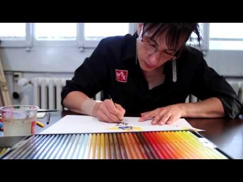 Drawing with Caran d'Ache Supracolor Aquarelle Pencils