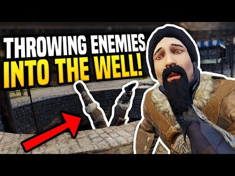 THROWING ENEMIES INTO THE WELL - Blade & Sorcery VR   Awesome Lift Mod!
