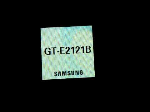 Samsung GT-E2121B (Screen Blinking Problem)