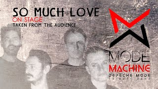So Much Love - Mode Machine Depeche Mode Tribute Band from Italy