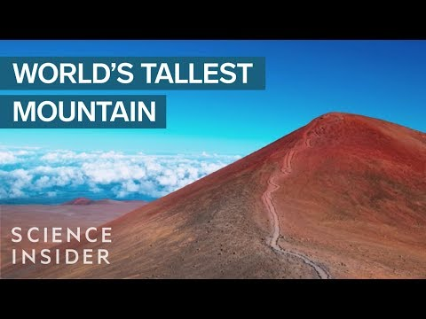 Mount Everest Isn't The World's Tallest Mountain