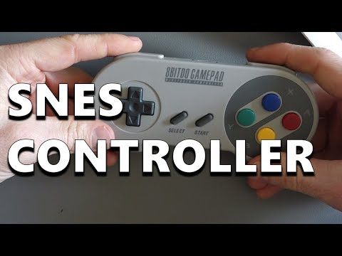 Retro Gaming with the 8Bitdo SFC30 Wireless SNES Controller