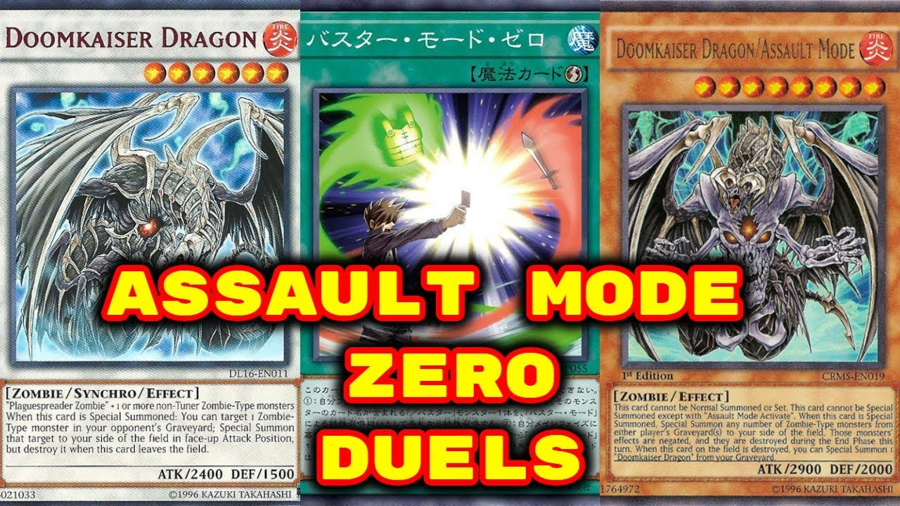 Yugioh - Assault Mode Zero Duels (Feat  Doomkaiser Dragon)