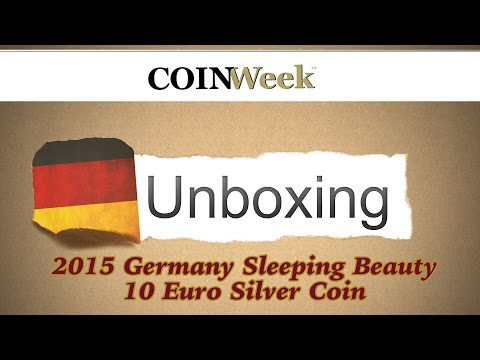 CoinWeek Unboxing: Germany 2015 Sleeping Beauty 10 Euro Silver Coin 4K Video