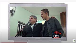 Recordando a Igrejinha - Visita do irmão Elionay em 03/12/2012