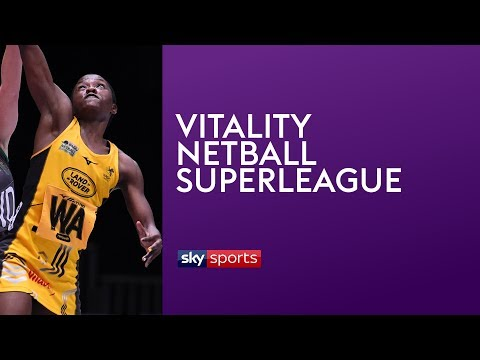 LIVE SUPERLEAGUE NETBALL! Wasps v Loughborough Lightning