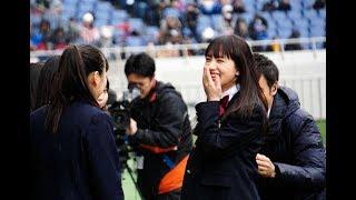 「全国高校サッカー選手権大会」の14代目応援マネージャーの女優・清...