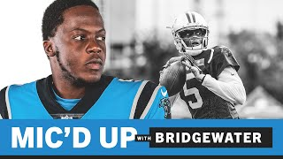 Teddy b was mic'd up during training camp.subscribe to the panthers yt channel: https://bit.ly/35gp3rbfor more nfl action: https://bit.ly/2nv06fn#ca...