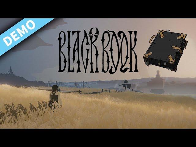 New Indie Turn-based card-game RPG with DARK Slavic Mythology | Black Book | PC DEMO