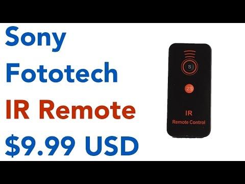 MASUNN FotoTech IR Wireless Shutter Release Remote Control For Sony Alpha Series A7 II A7 A7R A7S