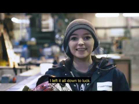 Dundee Stories - Jade Anderson, Fabricator Welder