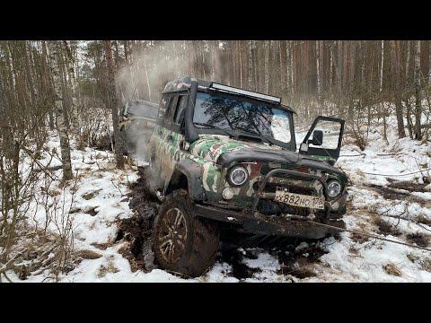 Бортовые редуктора Т-40 против военных мостов на болоте)