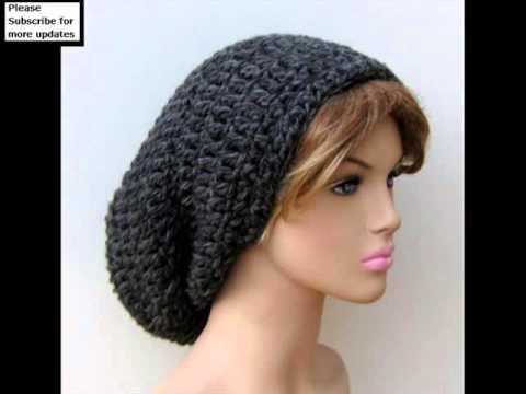 Long Knit Stocking Cap 36