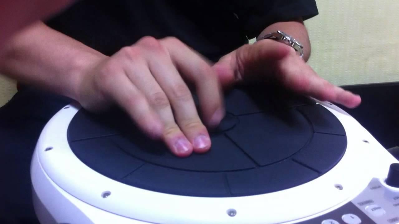 HandSonic  HPD-10 Rythm Test - YouTube 198b6d21b936