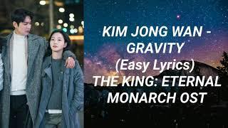 Download Kim Jong Wan - Gravity (Easy Lyrics) The King: Eternal Monarch OST Part 3